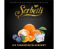 Тютюн Serbetli Ice Tangerine Blueberry (Крижаний Мандарин Чорниця) 50 грам