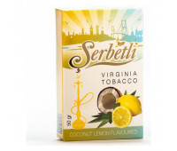 Табак для кальяна Serbetli Coconut Lemon 50 грамм