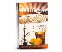 Табак для кальяна Serbetli Cola Orange 50 грамм