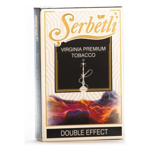 Табак для кальяна Serbetli Двойной Эффект (Double Effect)