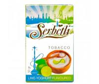 Табак для кальяна Serbetli Lime Yoghurt 50 грамм