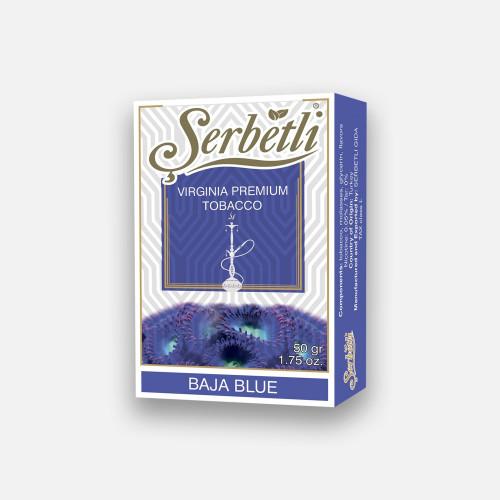 Тютюн для кальяну Serbetli Baja Blue 50 грам