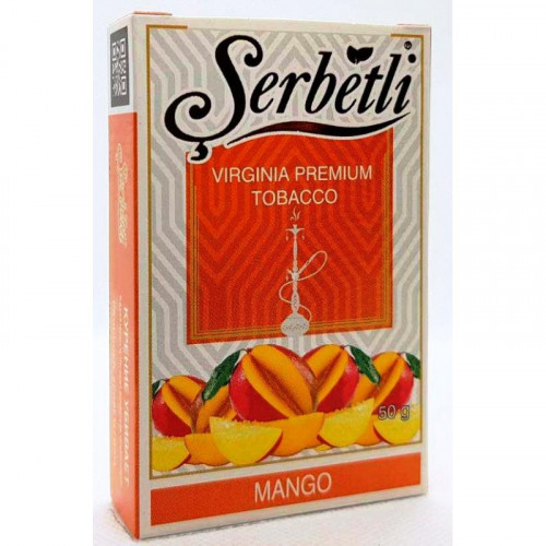 Тютюн для кальяну Serbetli Mango 50 грам