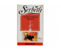 Тютюн для кальяну Serbetli Matador (Щербетлі Матадор) 50 грам