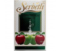 Табак для кальяна Serbetli Two Apples 50 грамм