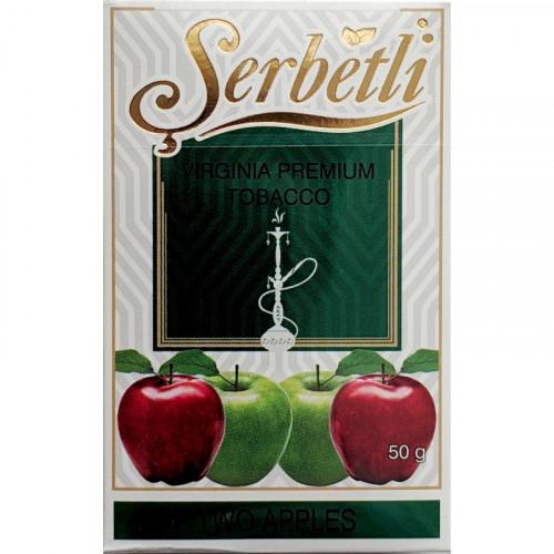 Тютюн для кальяну Serbetli Two Apples 50 грам