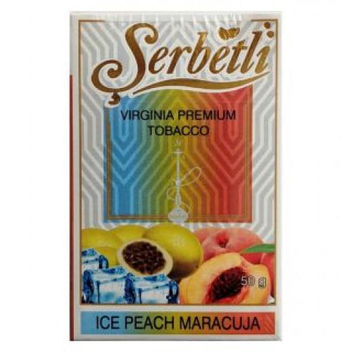 Табак для кальяна Serbetli Ice Peach Maracuja 50 грамм