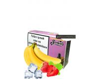 Табак Serbetli Ice Strawberry Banana (Ледяной Банан Клубника) 100 грамм