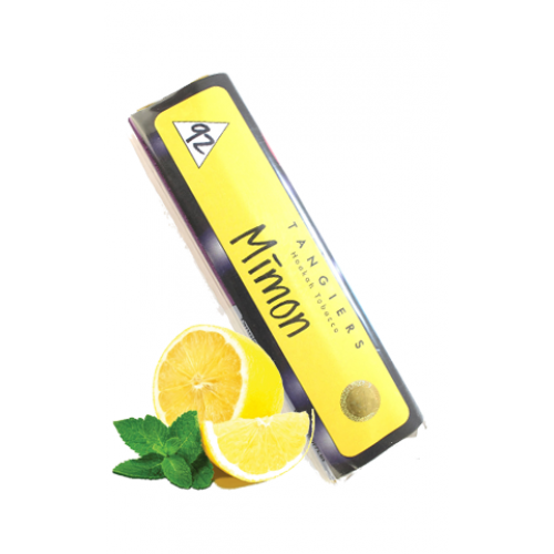 Купить Табак для кальяна Tangiers Mimon Noir (Танжирс, Танж Лимон с Мятой Ноир) 100гр