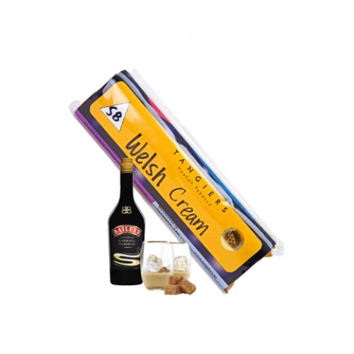 Купити Тютюн для кальяну Tangiers Welsh Cream Noir (Танжірс, Танжу Уельські Сливки) 100гр.