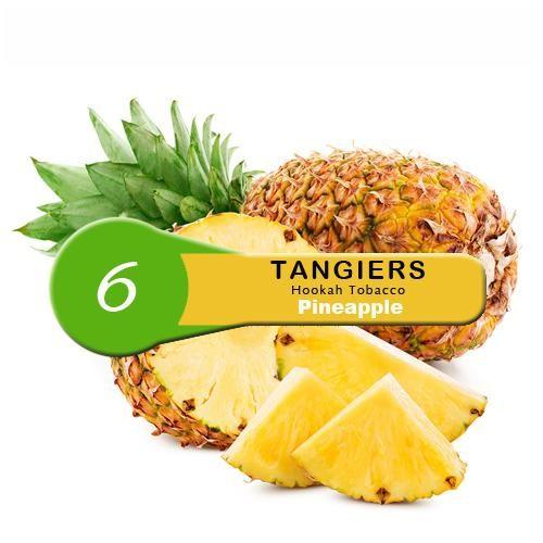 Купити Тютюн для кальяну Tangiers Pineapple Noir 6 (Ананас) 100 гр.