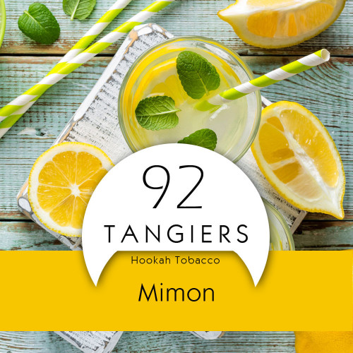 Тютюн Tangiers Mimon Noir 92 (Лимон М'ята) 250гр