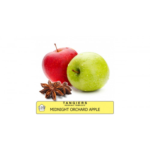 Купити тютюн Tangiers Midnight Orchard Apple Noir 119 (Червоне яблуко з анісом) 250гр