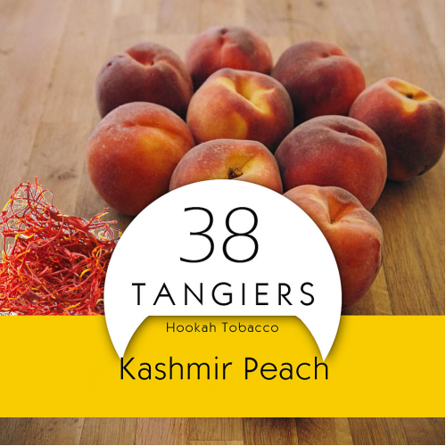 Тютюн Tangiers Kashmir Peach Noir 38 (Кашмір Персик) 100 гр.