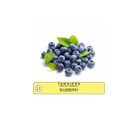 Тютюн Tangiers Blueberry Noir 21 (Чорниця) 100гр.
