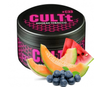 Табак CULTt C33 Watermelon Melon Blueberry Ice (Арбуз Дыня Черника Лед) 100 гр