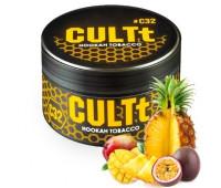 Табак CULTt C32 Mango Passion Fruit Pineapple (Манго Маракуйя Ананас) 100 гр