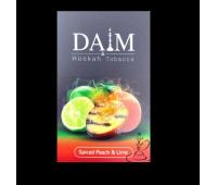 Табак Daim Spiced Peach & Lime (Даим Жаренный Лайм Персик) 50 гр.