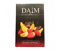 Табак Daim Strawberry Banana (Клубника Банан) 50 гр.