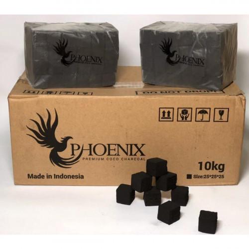 Кокосовый уголь для кальяна Phoenix (без коробки)